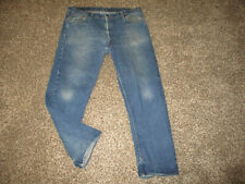 VINTAGE MENS LEVI'S 505 REGULAR FIT STRAIGHT LEG JEANS 42x30 made in USA