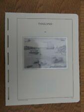 (20FE02) LIGHTHOUSE LEUCHTTURM ALBUM PAGES THAILAND 2005-2006 (324A-373)