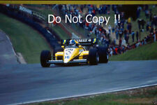 Derek Warwick Renault RE50 British Grand Prix 1984 Photograph