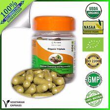 Organic 100% Triphala Capsules - Supplement 630mg - MULTIVITAMIN
