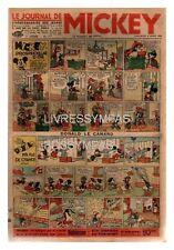 LE JOURNAL DE MICKEY N°  177 06/03/1938 ABE- ea PIM PAM POUM