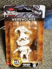 D & D Dungeons & Dragons Nolzur's Marvelous Miniatures Minis Werewolves