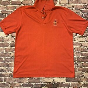 Men's Vintage Hanes Ford Mustang Polo