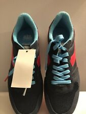 Diadora Air Sunder Metro Blue/ Red/White Men's Sneakers AUTH Size 13- ITALY