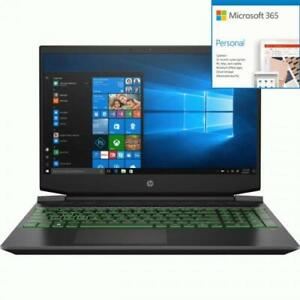 HP Pavilion 15.6  Gaming Laptop Ryzen 7-4800H 12GB RAM 512GB + Microsoft 365 Bun