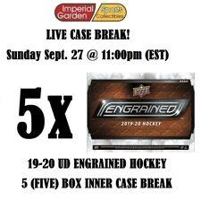 19-20 UD ENGRAINED 5 (FIVE) BOX INNER CASE BREAK #1924 – New York Islanders