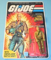 1984 GI Joe Duke v1 Figure Complete Sealed MOC *CUSTOM Full Card Back **READ**