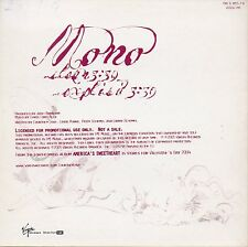 "COURTNEY LOVE ""MONO"" PROMO CD SINGLE / KURT COBAIN - HOLE"