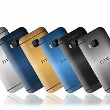 Brushed Metal Skin Sticker For HTC One (M9) Decal Wrap Cover Case Protector
