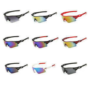 Anti-Shock Outdoor Sunglasses UV400 Cycling Running Fishing Golf Sports Glasses