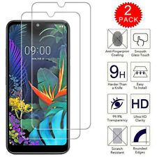 For LG Q60 - Premium Clear HD Tempered Glass Film Screen Protector [2-Pack]