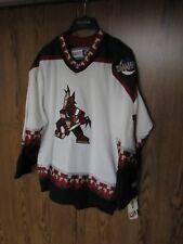NWT Vintage 1990's Phoenix Coyotes Hockey Jersey men's size Large CCM NHL new #1