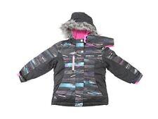 ZeroXposur Girls Size 5/6 Snowboard Jacket, Black/Multi