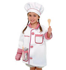 Melissa & Doug® Chef Role Play Costume Dress Up Set Realistic Accessories  NEW a
