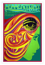 Cuban movie Poster.Spanish 4 film Peppermint FRAPPE.Carlos Saura Art.Psychedelic