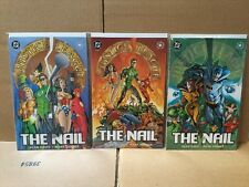 Justice League The Nail #1 - 3 Complete Series DC Comics