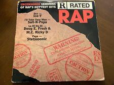 R RATED RAP VINYL LP VARIOUS ICE-T RARE