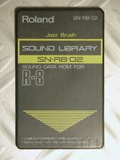 90' Roland Card Memory R8 R8m JAZZ BRUSH SN-R8-02 PCM card Acoustic BASS