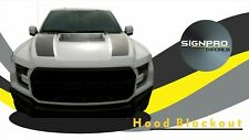 Ford F150 F-150 Raptor SVT 2017 Hood Blackout Tech Graphics kit Decal Sticker