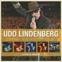 Udo Lindenberg - Original Album Series Vol. 3 (Live & Rare) 5 CDs - neu und ovp