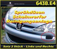 Peugeot 206 CC LIM SW Abdeckung Düse Scheinwerferreinigungsanlage OE 6438.E4