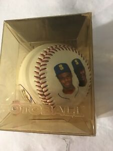 KEN GRIFFEY JR. & SR. FOTOBALL SEATTLE MARINERS MLB Ball