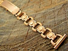 NOS Vintage Watch Band 16mm Straight Unused Deployment Gold Filled Kestenmade