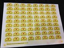 Official James Taylor Paper Decals For James Taylor Ceramics