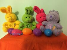 Personalized Stuffed Bunny, Easter Plushie Gifts, Basket Fillers,
