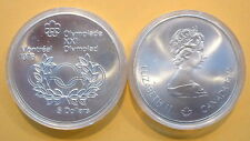 CANADA 1976 OLYMPIC $5 SILVER COIN *No 8**