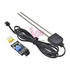 2pcs Soil Humidity Hygrometer Moisture Detection Sensor With Resistance Probe
