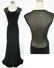 NWT XSCAPE $200 Black Party Evening Prom Formal Gown 4