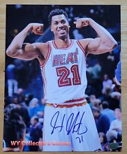 Hassan Whiteside Signed Miami Heat 8x10 Photos (Hollywood Collectibles Hologram)