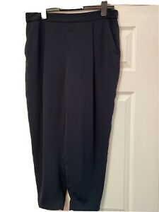 All Saints Wide Leg Tapered Trousers