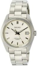 Brand New Seiko Mechanical SARB035 Wrist Watch for Men - Silver/Beige