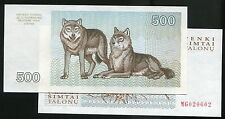 Lithuania , P46 pick 46 , 500-Tal , Anima