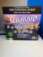 Scrabble The National Parks Edition, The Crossword Game, Family Game, 8+ Players