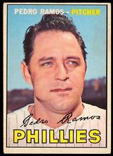 1967 TOPPS OPC O PEE CHEE BASEBALL #187 PEDRO RAMOS EX+ PHILADELPHIA PHILLIES