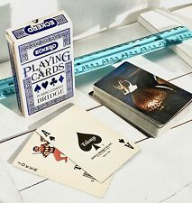 Vintage Bridge Playing Cards Exckerd Plastic Coated Bridge 059