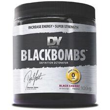 Polvos de nutrición deportiva negro