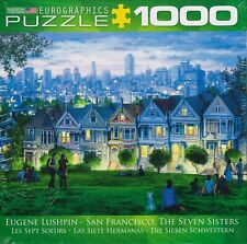 EUROGRAPHICS 1000 PC JIGSAW PUZZLE THE SEVEN SISTERS SAN FRANCISCO NEW & SEALED