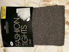 Boots Fashion Tights Medium Large grey marl New