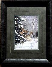 Richard Plasschaert Ruffed Grouse Art Print-Framed 15 x 19
