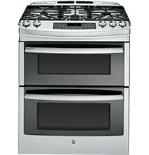 "GE Profile 30"" Slide-In Double Oven Stainless Steel Gas Range--BRAND NEW!!"