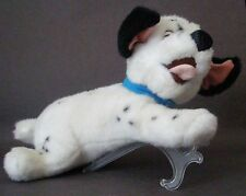 "Walt Disney 101 Dalmatians Lucky 13"" Beanbag Plush Dog w Blue Collar CUTE EUC"