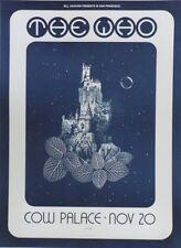 """""""THE WHO / COW PALACE 1973"""" Affiche US originale entoilée David SINGER 49x66cm"""