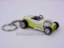 Custom Keychain Hot Wheels Garage 30 Car Set Street Rodder