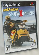 SEALED NEW PlayStation 2 Ski-Doo Snow X Racing Video Game PS2 Snowmobile Action