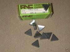 10 New ANC TNU 332 AN6 Carbide Inserts