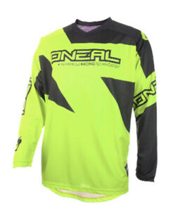O'Neal Matrix Ridewear Men's MX Jersey Neon Yellow XXL